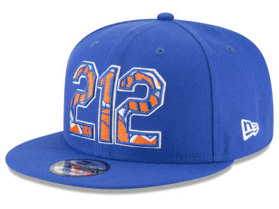 New York Knicks New Era NBA Area Code 9FIFTY Snapback Cap