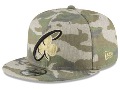 Boston Celtics New Era NBA Combo Camo 9FIFTY Snapback Cap