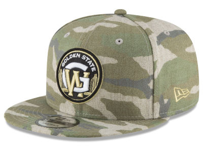 Golden State Warriors New Era NBA Combo Camo 9FIFTY Snapback Cap