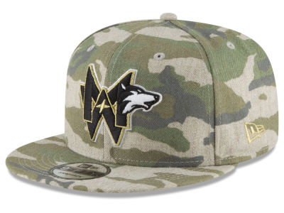 Minnesota Timberwolves New Era NBA Combo Camo 9FIFTY Snapback Cap