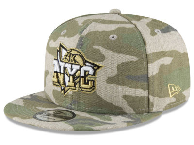 New York Knicks New Era NBA Combo Camo 9FIFTY Snapback Cap