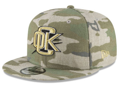 Oklahoma City Thunder New Era NBA Combo Camo 9FIFTY Snapback Cap