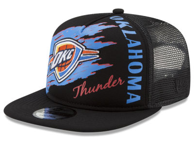 Oklahoma City Thunder New Era NBA Swipe Trucker 9FIFTY Snapback Cap