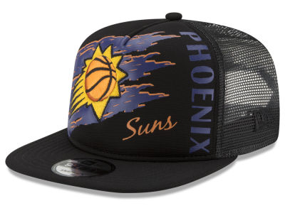 Phoenix Suns New Era NBA Swipe Trucker 9FIFTY Snapback Cap