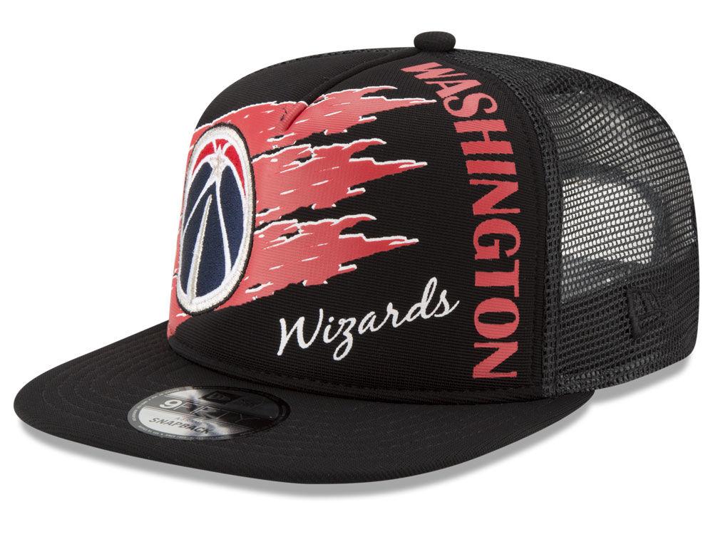 31f99631dc1 Washington Wizards New Era NBA Swipe Trucker 9FIFTY Snapback Cap ...