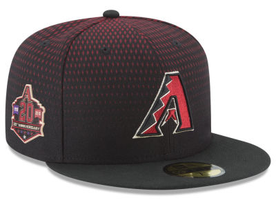 Arizona Diamondbacks New Era MLB Authentic Collection 20th Anniversary 59FIFTY Cap