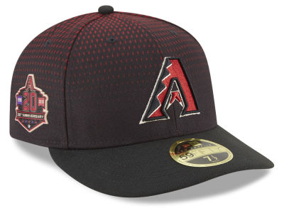 Arizona Diamondbacks New Era MLB Authentic Collection 20th Anniversary Low Profile 59FIFTY Cap