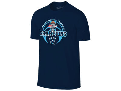 Villanova Wildcats Retro Brand 2018 NCAA Men's Big East Tourney Champ Locker Room T-Shirt