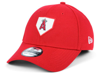 Los Angeles Angels New Era MLB The Plate 39THIRTY Cap