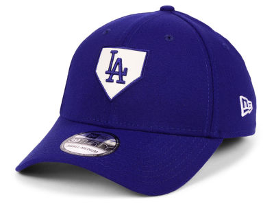 Los Angeles Dodgers New Era MLB The Plate 39THIRTY Cap
