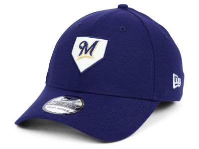 Milwaukee Brewers New Era MLB The Plate 39THIRTY Cap
