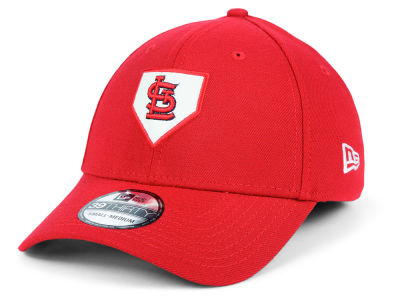 St. Louis Cardinals New Era MLB The Plate 39THIRTY Cap