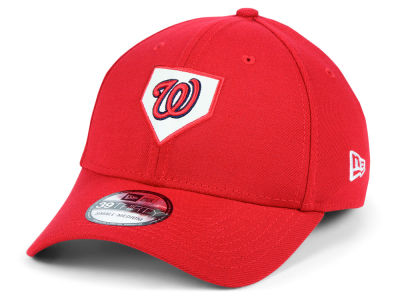 Washington Nationals New Era MLB The Plate 39THIRTY Cap