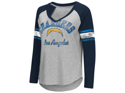Los Angeles Chargers G-III Sports NFL Women's Sideline Long Sleeve T-Shirt