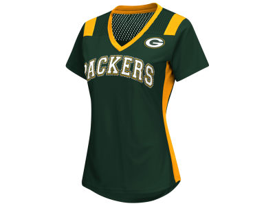 Green Bay Packers G-III Sports NFL Women's Wildcard Jersey T-Shirt