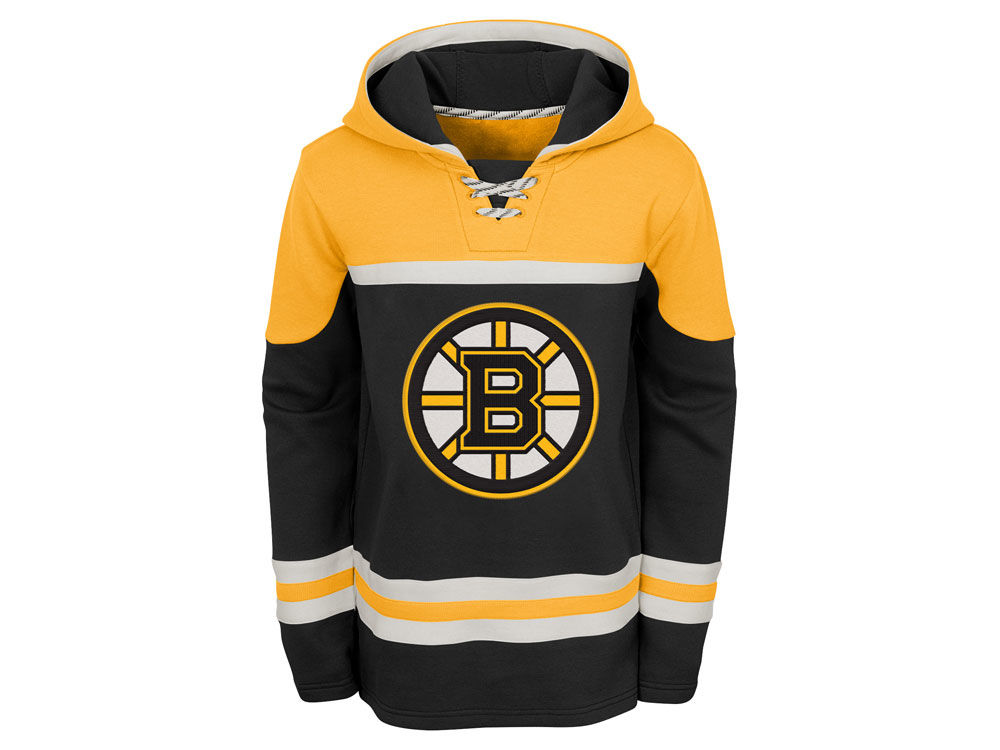 Boston Bruins Outerstuff NHL Youth Asset Hoodie  75cca8d776