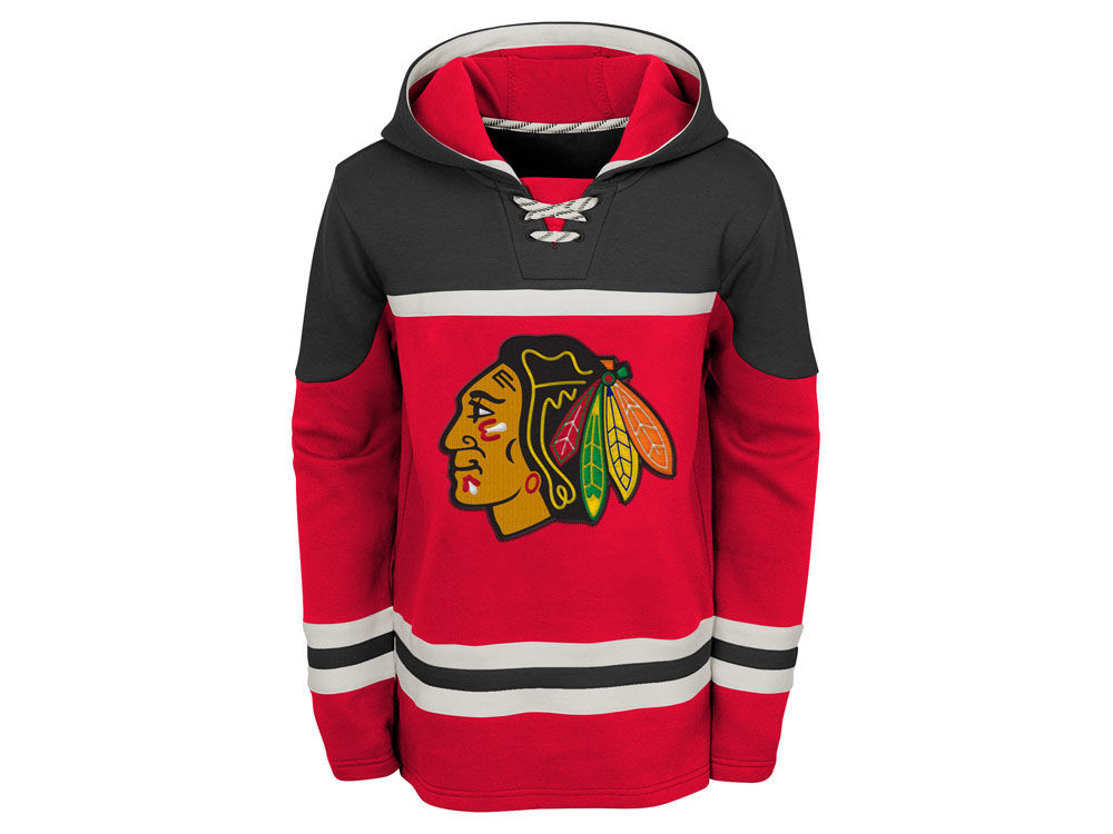 Chicago Blackhawks Outerstuff NHL Youth Asset Hoodie  e58c20be1b