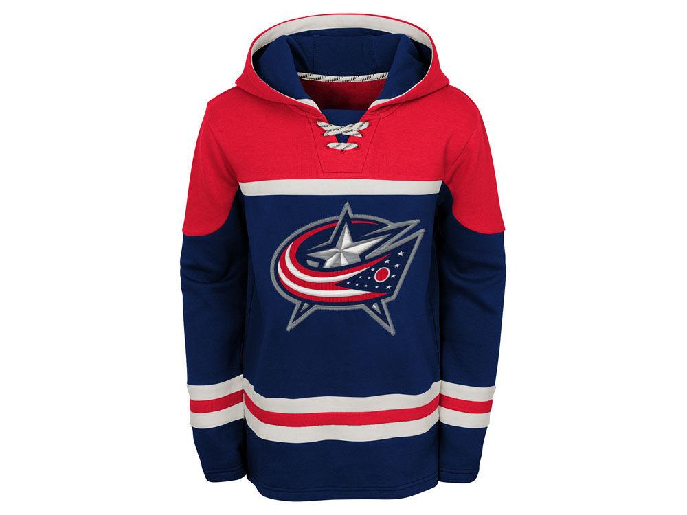 Columbus Blue Jackets Outerstuff NHL Youth Asset Hoodie  a5670e28a