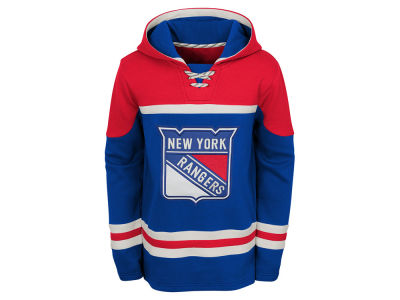 New York Rangers Outerstuff NHL Youth Asset Hoodie
