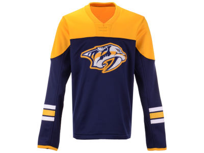 Nashville Predators Outerstuff NHL Youth Defenseman Fleece Sweatshirt