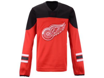 Detroit Red Wings Outerstuff NHL Youth Defenseman Fleece Sweatshirt