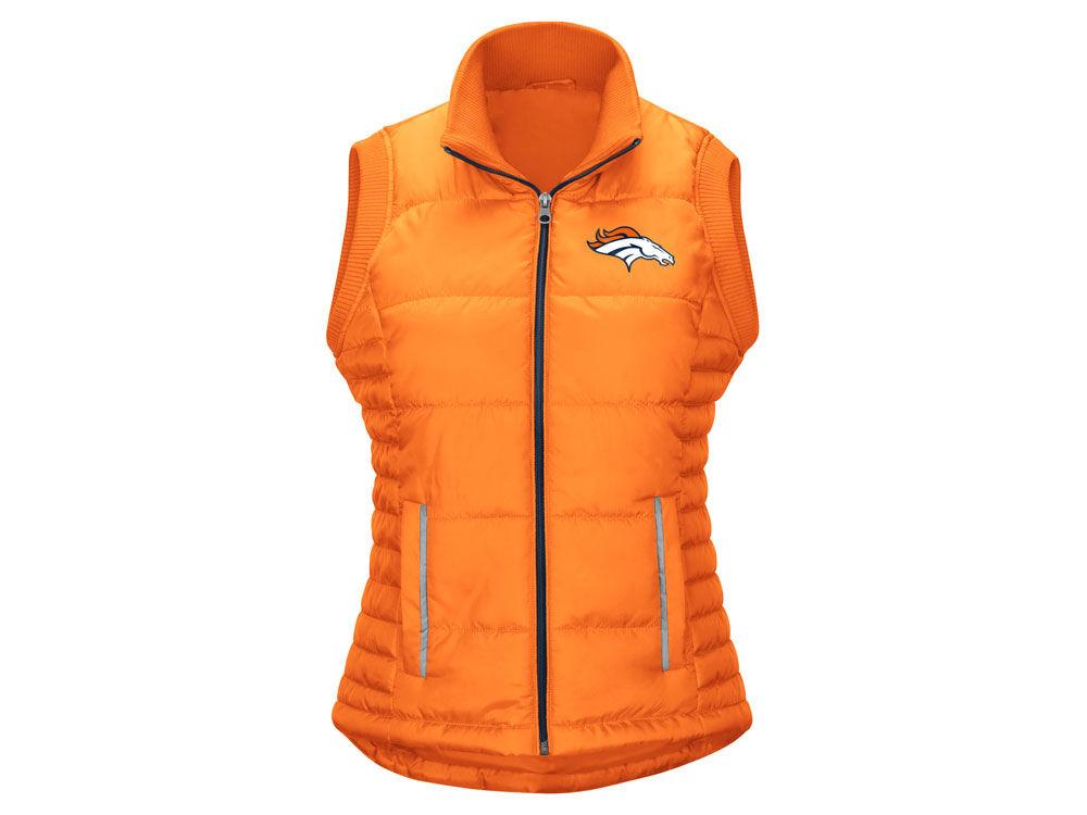 Denver Broncos G-III Sports NFL Women s First Down Vest  b760ad010