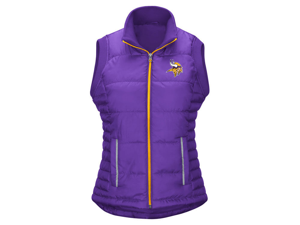 Minnesota Vikings G-III Sports NFL Women s First Down Vest  86848e34cd5b7