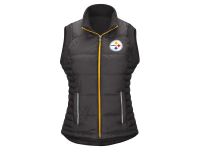 Pittsburgh Steelers G-III Sports NFL Women's First Down Vest
