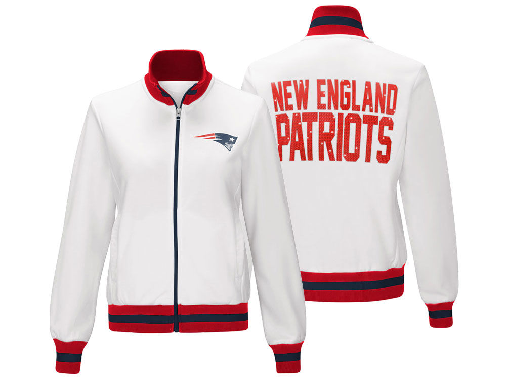 New England Patriots G-III Sports NFL Women s Field Goal Track Jacket  a6fe3b2a5