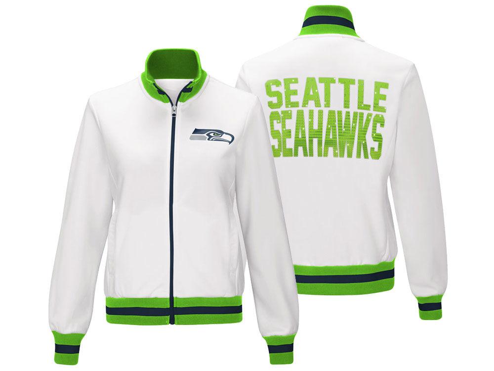 Seattle Seahawks G-III Sports NFL Women s Field Goal Track Jacket ... 442400d35