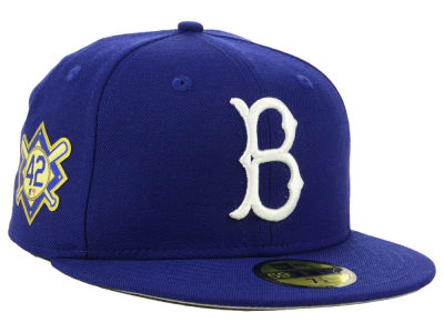 d801b0c63a5 Brooklyn Dodgers Jackie Robinson New Era MLB Patch 59FIFTY Cap