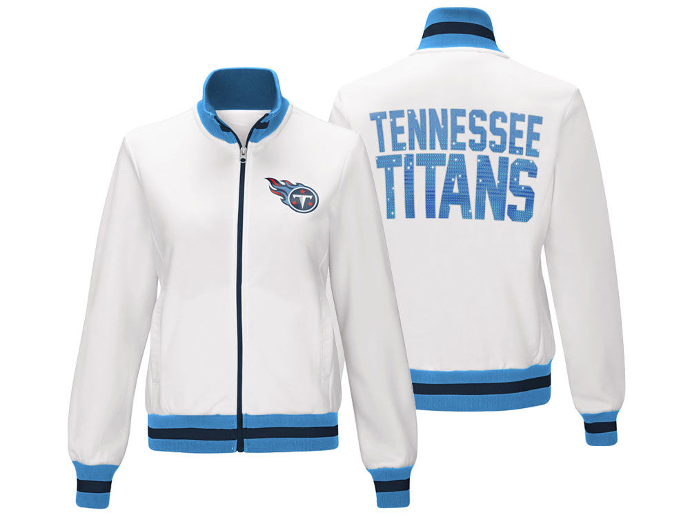 Tennessee Titans G-III Sports NFL Women s Field Goal Track Jacket ... c02d92b90