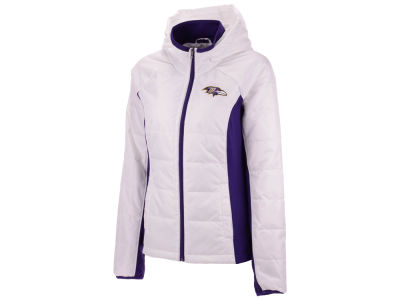 Baltimore Ravens G-III Sports NFL Women's Defense Polyfill Jacket