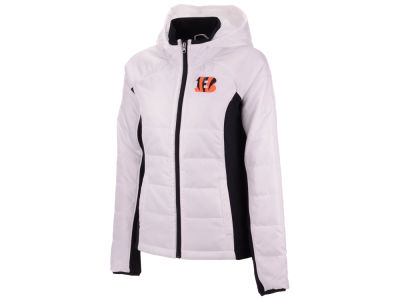 Cincinnati Bengals G-III Sports NFL Women s Defense Polyfill Jacket 675b7bcf99