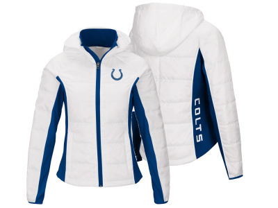 Indianapolis Colts G-III Sports NFL Women's Defense Polyfill Jacket