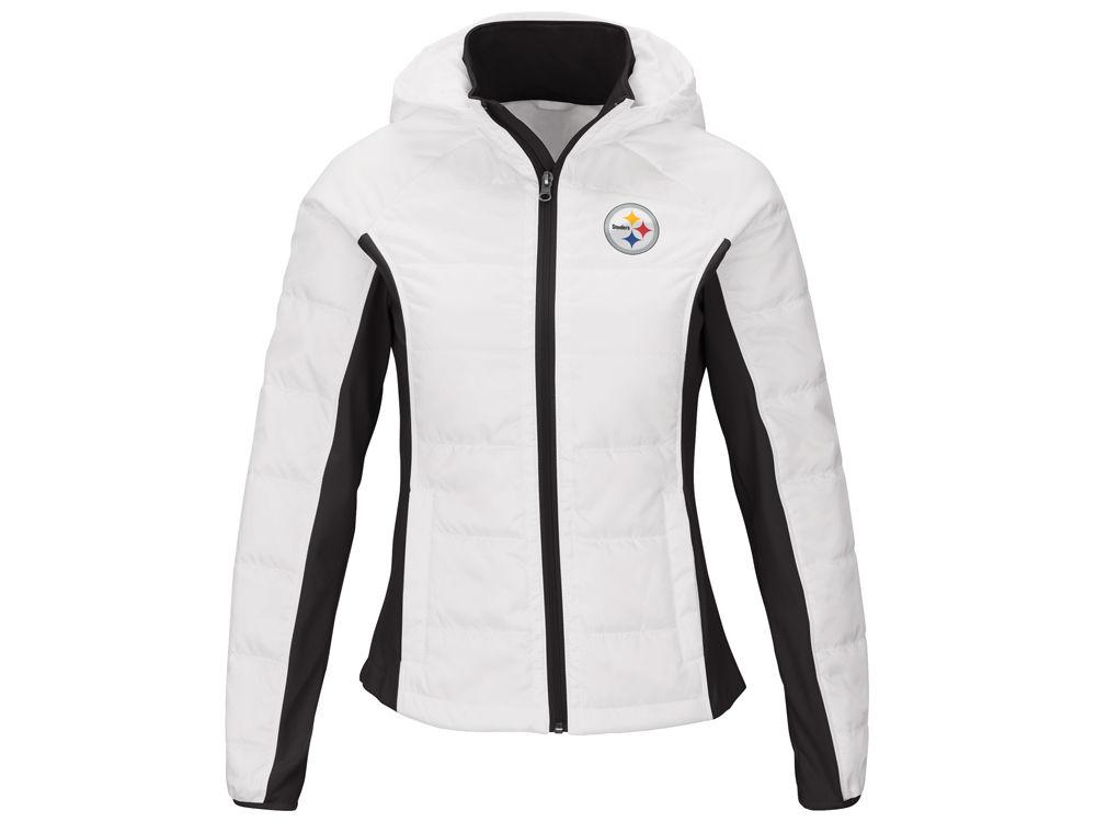 14dc68231 Pittsburgh Steelers G-III Sports NFL Women s Defense Polyfill Jacket ...
