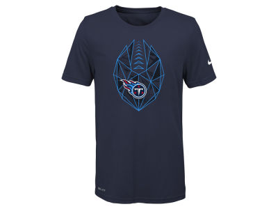 Tennessee Titans Nike NFL Youth Football Icon T-Shirt