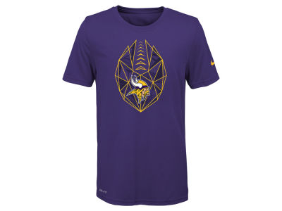 8e2c95729 Minnesota Vikings Nike NFL Youth Football Icon T-Shirt