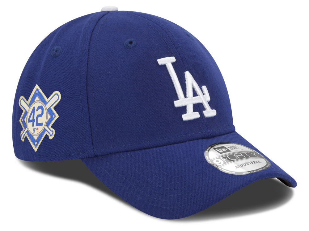 new product ff22d 90f07 ... low price los angeles dodgers jackie robinson mlb 2018 9forty cap lids  daad9 3af3c
