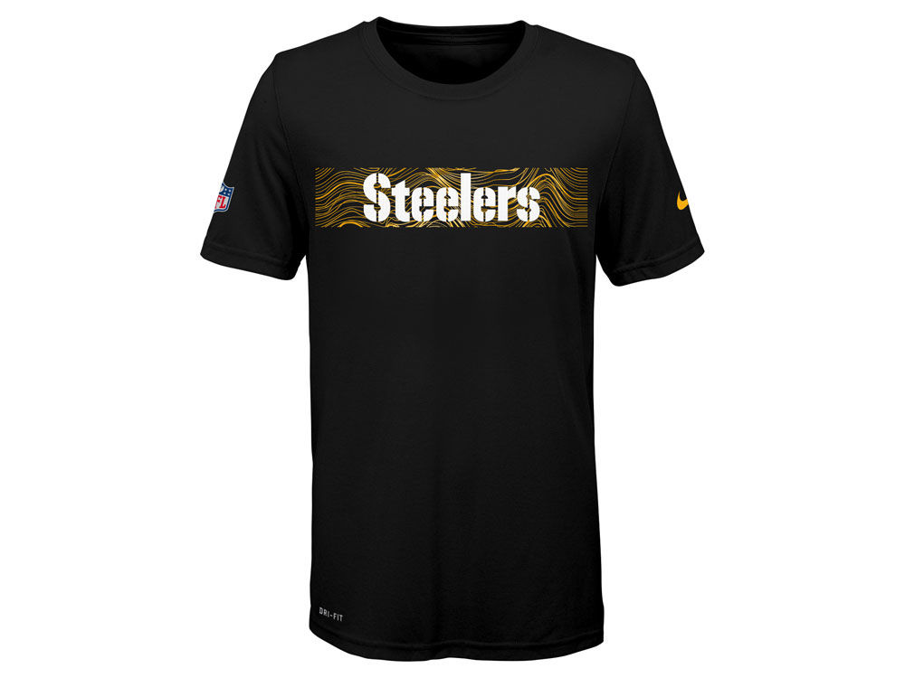 Pittsburgh Steelers Nike NFL Youth Sideline T-Shirt  4c654019a