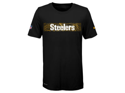 Pittsburgh Steelers Nike NFL Youth Sideline T-Shirt
