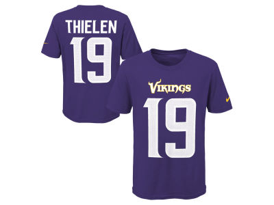 Minnesota Vikings Adam Thielen Nike NFL Youth Pride Name and Number 3.0 T-Shirt