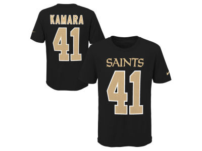 New Orleans Saints Alvin Kamara Nike NFL Youth Pride Name and Number 3.0 T-Shirt