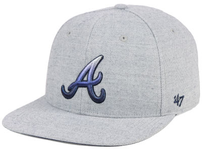 Atlanta Braves  47 MLB Falton Snapback Cap 52ed12c07a6