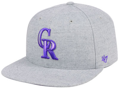 Colorado Rockies '47 MLB Falton Snapback Cap