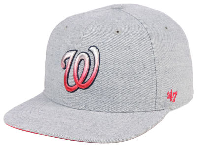 Washington Nationals '47 MLB Falton Snapback Cap