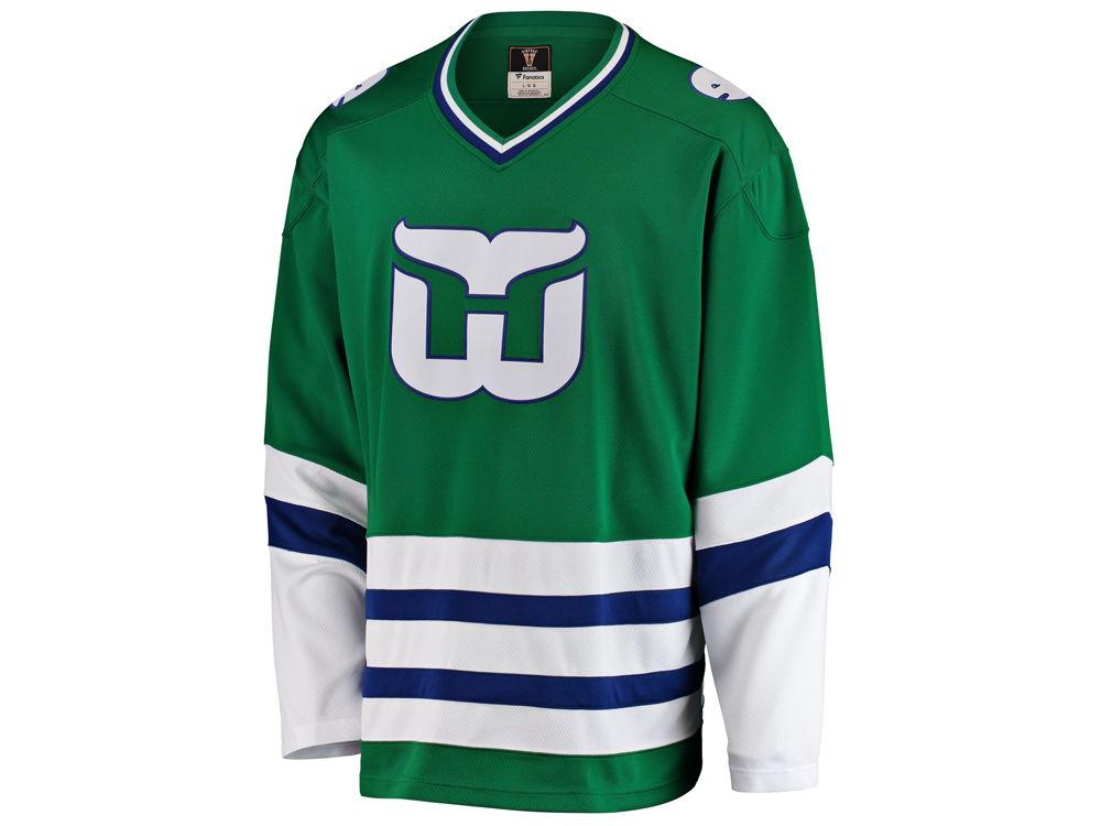 Hartford Whalers NHL Branded NHL Men s Heritage Breakaway Jersey ... a0089824d72