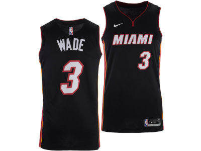 Miami Heat Dwyane Wade Nike NBA Men's Icon Swingman Jersey