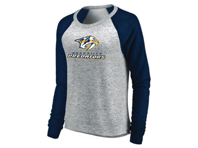 Nashville Predators Majestic NHL Women's Cozy  Crew Sweatshirt
