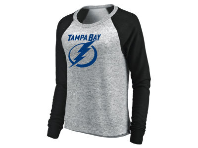 Tampa Bay Lightning Majestic NHL Women's Cozy  Crew Sweatshirt